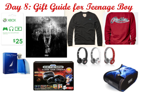 Day 8: Gift Guide for Teen